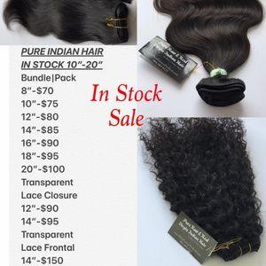 Indian Hair Provided by Stephanie